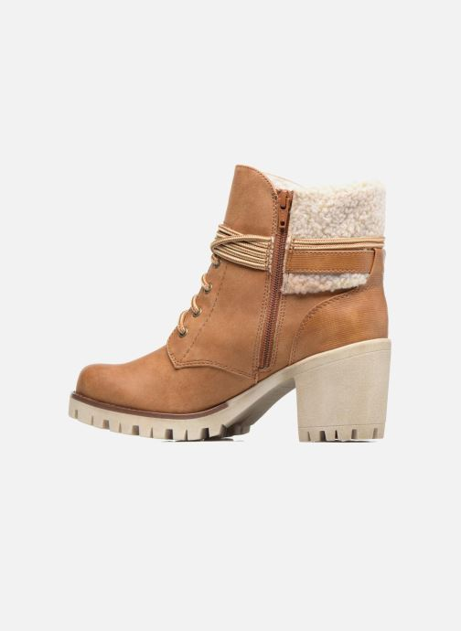 Ankle boots S.Oliver Fame Brown front view