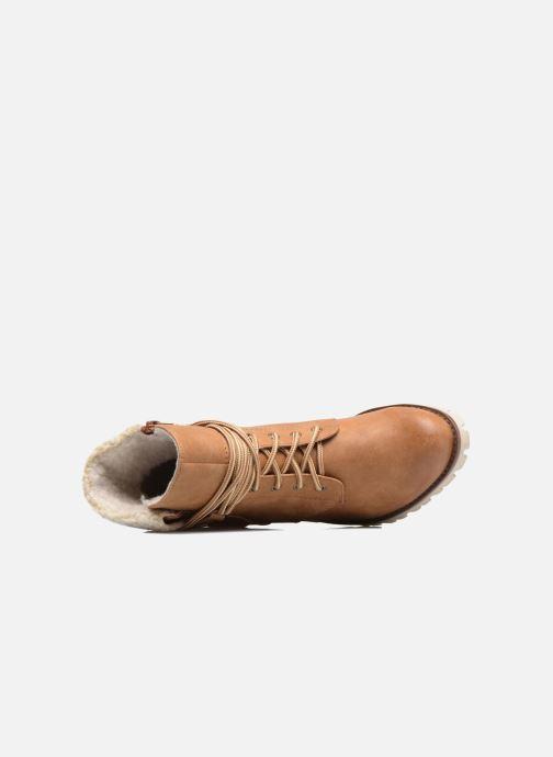 Bottines et boots S.Oliver Fame Marron vue gauche