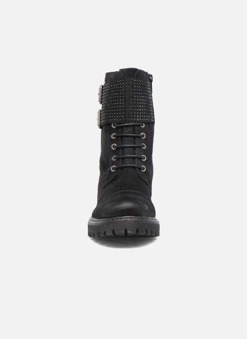 Bottines et boots S.Oliver Hannah Noir vue portées chaussures