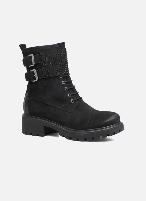 Boots en enkellaarsjes S.Oliver Hannah Zwart detail