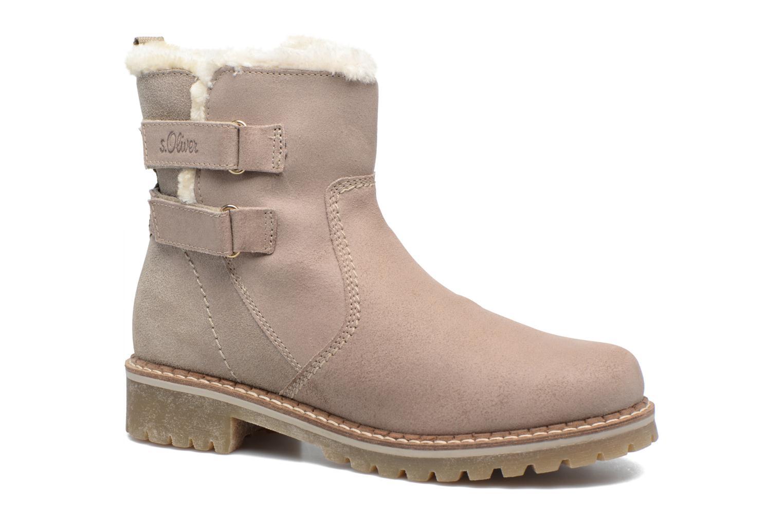 Bottines et boots S.Oliver Nilma Beige vue détail/paire