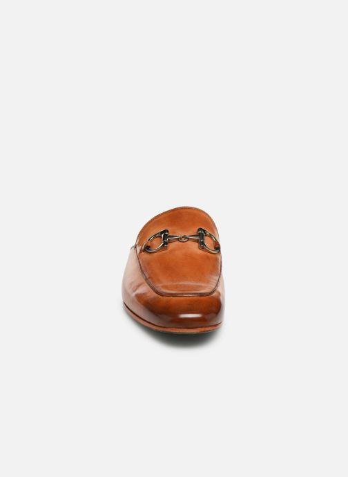 Mocassini Melvin & Hamilton Clive 2 Marrone modello indossato