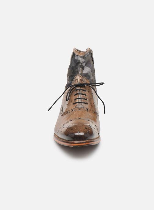 Bottines et boots Melvin & Hamilton Patrick 4 Marron vue portées chaussures