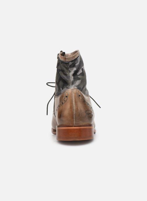 Bottines et boots Melvin & Hamilton Patrick 4 Marron vue droite