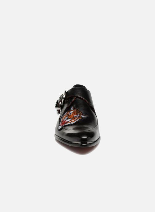 Mocassins Melvin & Hamilton Toni 24 Noir vue portées chaussures