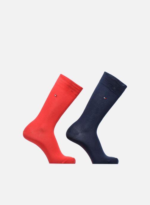 Chaussettes et collants Tommy Hilfiger Chaussettes CLASSIC LOT DE 2 Rouge vue détail/paire