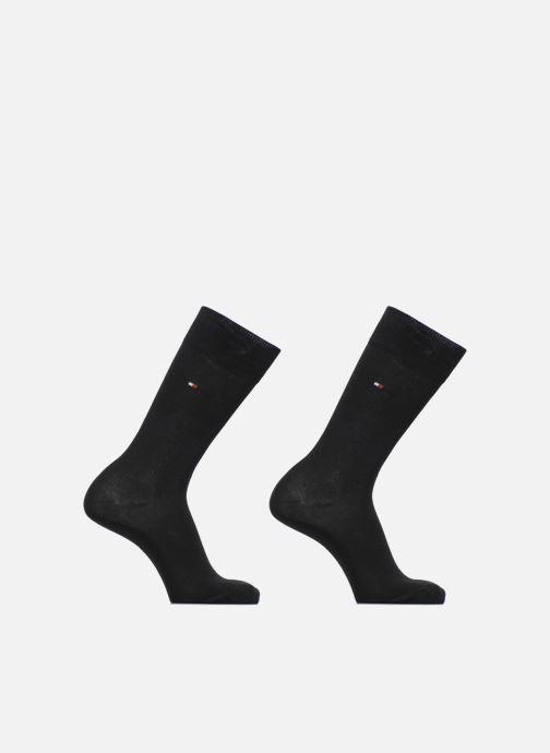 Sokken en panty's Tommy Hilfiger Chaussettes CLASSIC LOT DE 2 Zwart detail