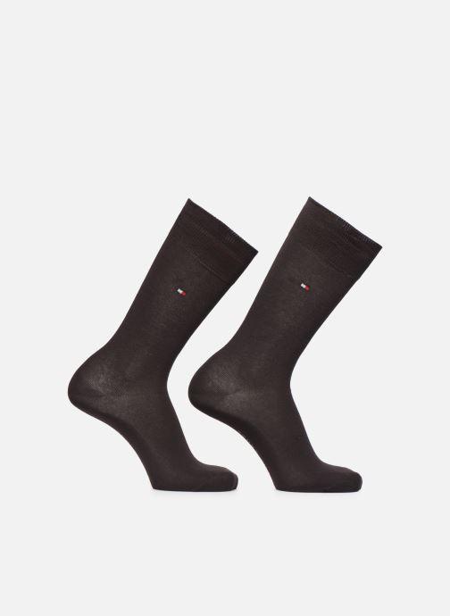 Chaussettes et collants Tommy Hilfiger Chaussettes CLASSIC LOT DE 2 Marron vue détail/paire