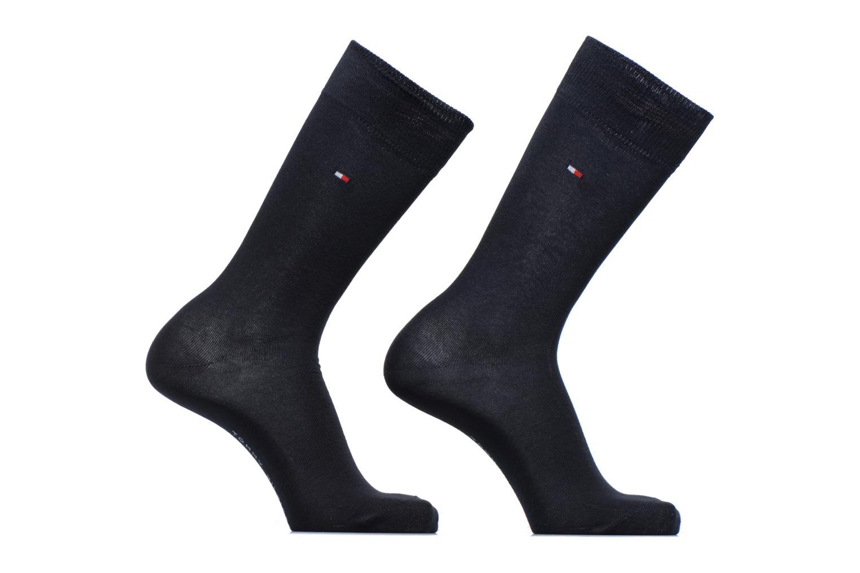 Sokken en panty's Tommy Hilfiger Chaussettes CLASSIC LOT DE 2 Blauw detail