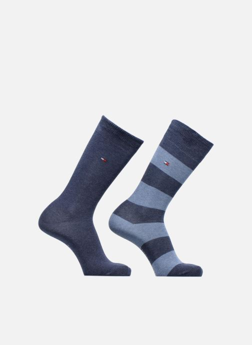 Sokken en panty's Tommy Hilfiger Chaussettes RUGBY LOT DE 2 Blauw detail