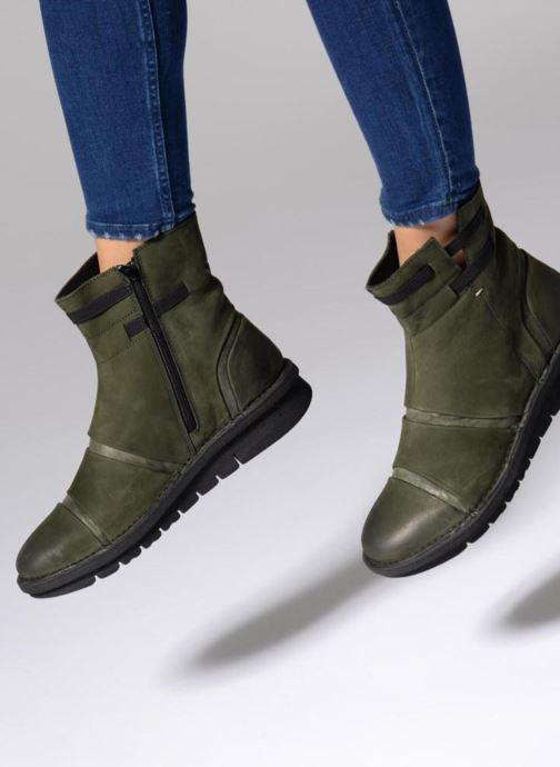 Bottines et boots Khrio Todese Vert vue bas / vue portée sac