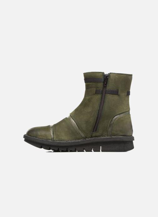 Bottines et boots Khrio Todese Vert vue face