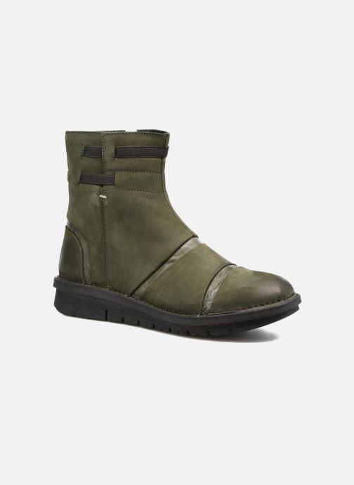 Bottines et boots Khrio Todese Vert vue détail/paire
