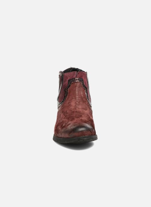 Ankle boots Khrio Feabese Burgundy model view