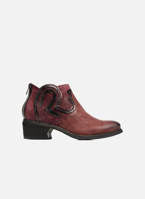 Ankle boots Khrio Feabese Burgundy back view