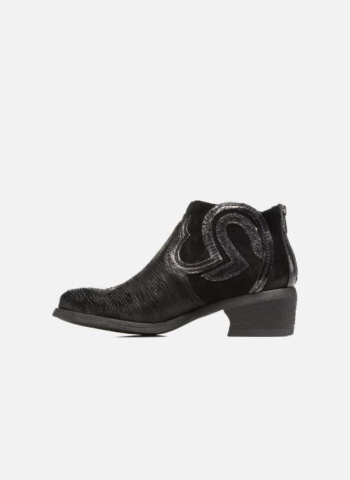 Khrio Et Boots Velours Feabese Nero Bottines WIYHED29