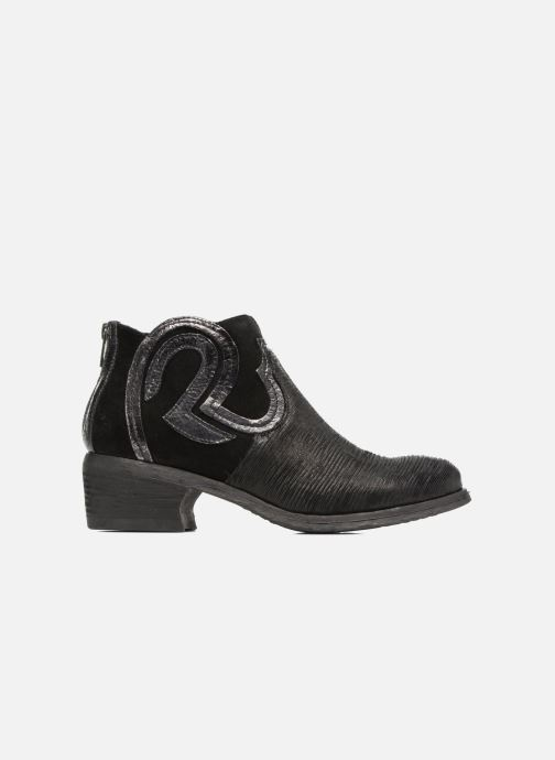 Ankle boots Khrio Feabese Black back view