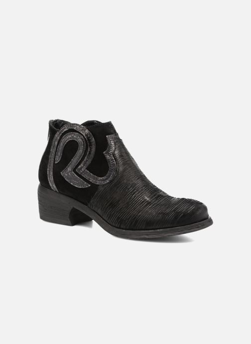 Ankle boots Khrio Feabese Black detailed view/ Pair view