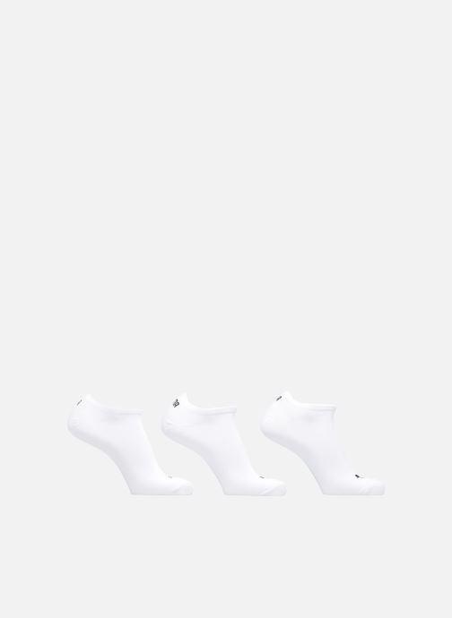 Strømper og tights Puma Socks SNEAKERS LOT DE 3 Hvid detaljeret billede af skoene