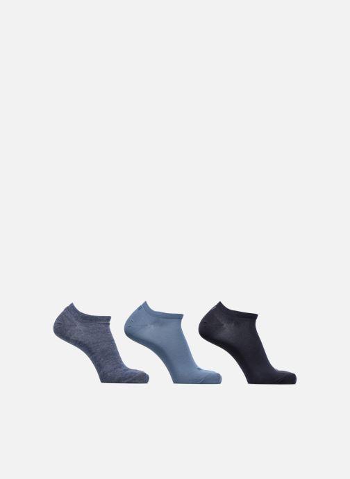 Strumpor och strumpbyxor Puma Socks SNEAKERS LOT DE 3 Blå detaljerad bild på paret