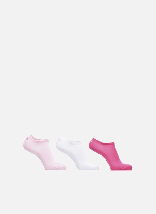 Chaussettes et collants Puma Socks SNEAKERS LOT DE 3 Rose vue détail/paire