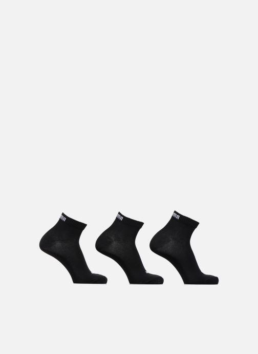 Sokken en panty's Puma Socks QUARTERS LOT DE 3 Zwart detail
