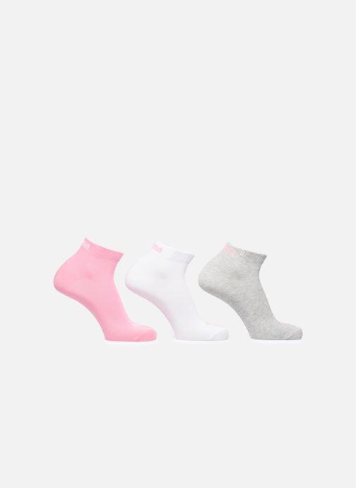 Sokken en panty's Puma Socks QUARTERS LOT DE 3 Roze detail