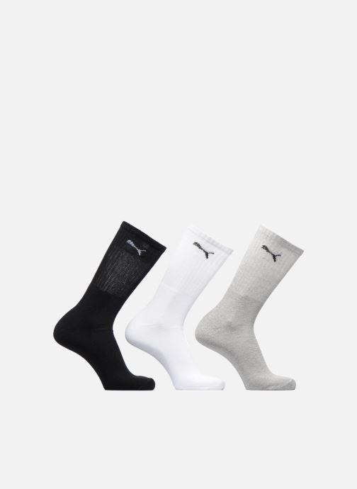 Chaussettes et collants Puma Socks SPORT CREW LOT DE 3 Gris vue détail/paire