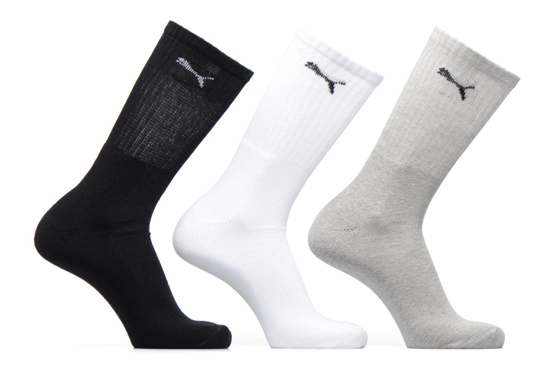 Socks & tights Puma Socks SPORT CREW LOT DE 3 Grey detailed view/ Pair view