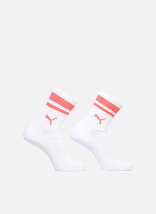 Strømper og tights Puma Socks HERITAGE CREW  LOT DE 2 Hvid detaljeret billede af skoene