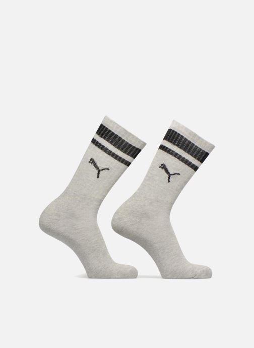 Chaussettes et collants Puma Socks HERITAGE CREW  LOT DE 2 Gris vue détail/paire