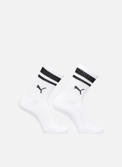 Chaussettes et collants Puma Socks HERITAGE CREW  LOT DE 2 Blanc vue détail/paire