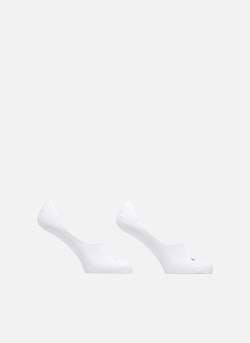 Chaussettes et collants Puma Socks FOOTIES LOT DE 2 Blanc vue détail/paire