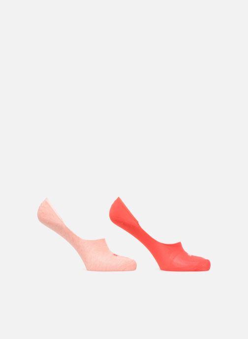 Chaussettes et collants Puma Socks FOOTIES LOT DE 2 Rose vue détail/paire
