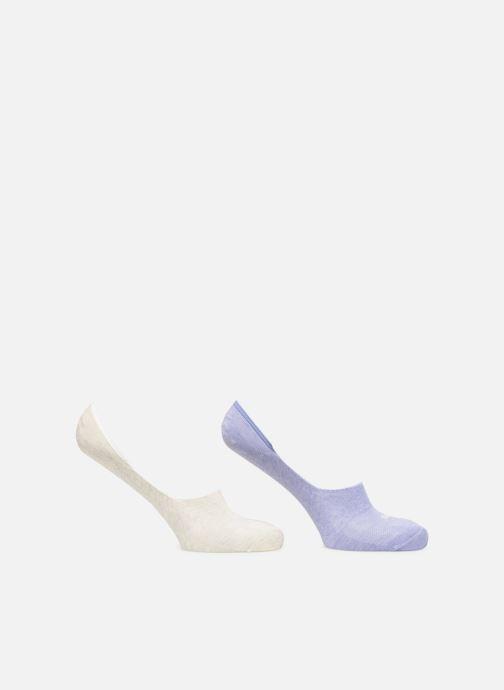 Sokken en panty's Puma Socks FOOTIES LOT DE 2 Paars detail