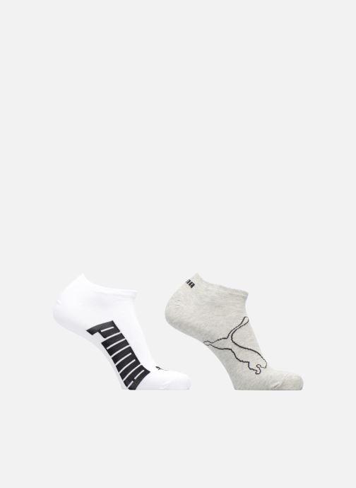 Strumpor och strumpbyxor Puma Socks LIFESTYLE SNEAKERS LOT DE 2 Grå detaljerad bild på paret