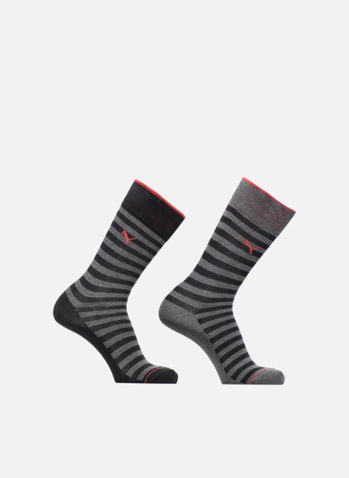 Chaussettes et collants Puma Socks CLASSIC SOCKS LOT DE 2 Noir vue détail/paire