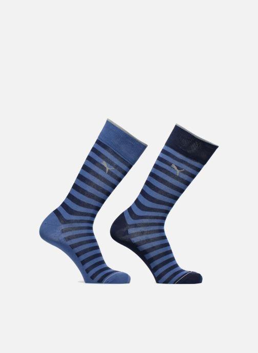 Strømper og tights Puma Socks CLASSIC SOCKS LOT DE 2 Blå detaljeret billede af skoene