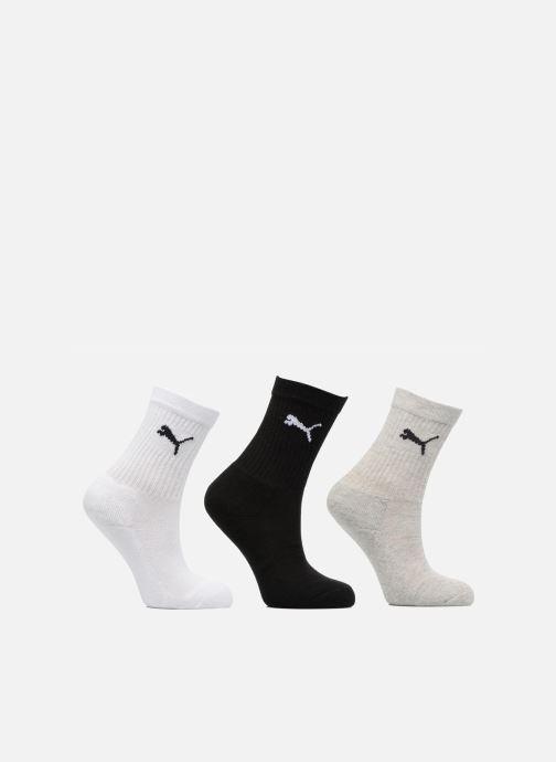 Chaussettes et collants Puma Socks SPORT CREW KIDS LOT DE 3 Gris vue détail/paire