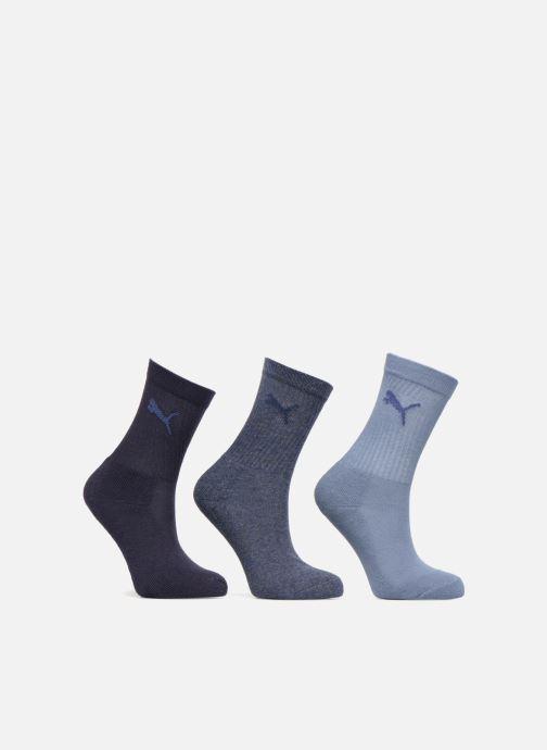 Chaussettes et collants Puma Socks SPORT CREW KIDS LOT DE 3 Bleu vue détail/paire