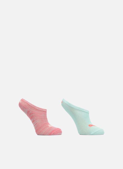 Socken & Strumpfhosen Puma Socks SNEAKERS KIDS LOT DE 2 rosa detaillierte ansicht/modell