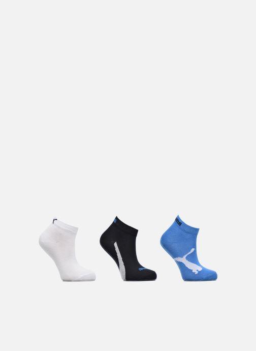 Chaussettes et collants Puma Socks LIFESTYLE QUARTERS KIDS LOT DE 3 Bleu vue détail/paire