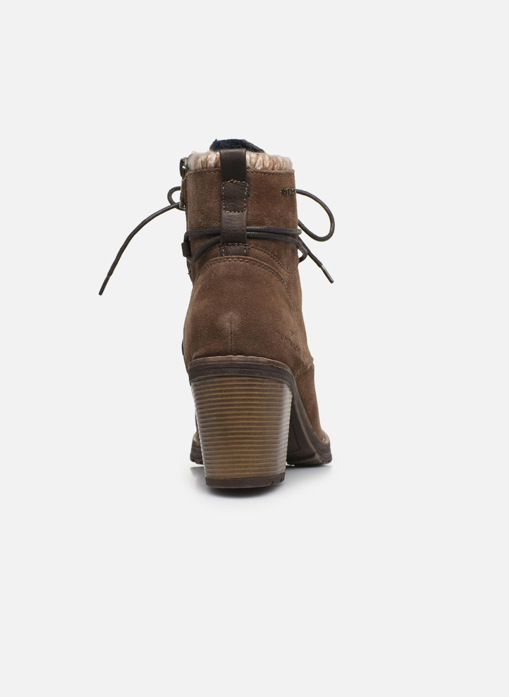 Bottines et boots Tom Tailor Alison Marron vue droite