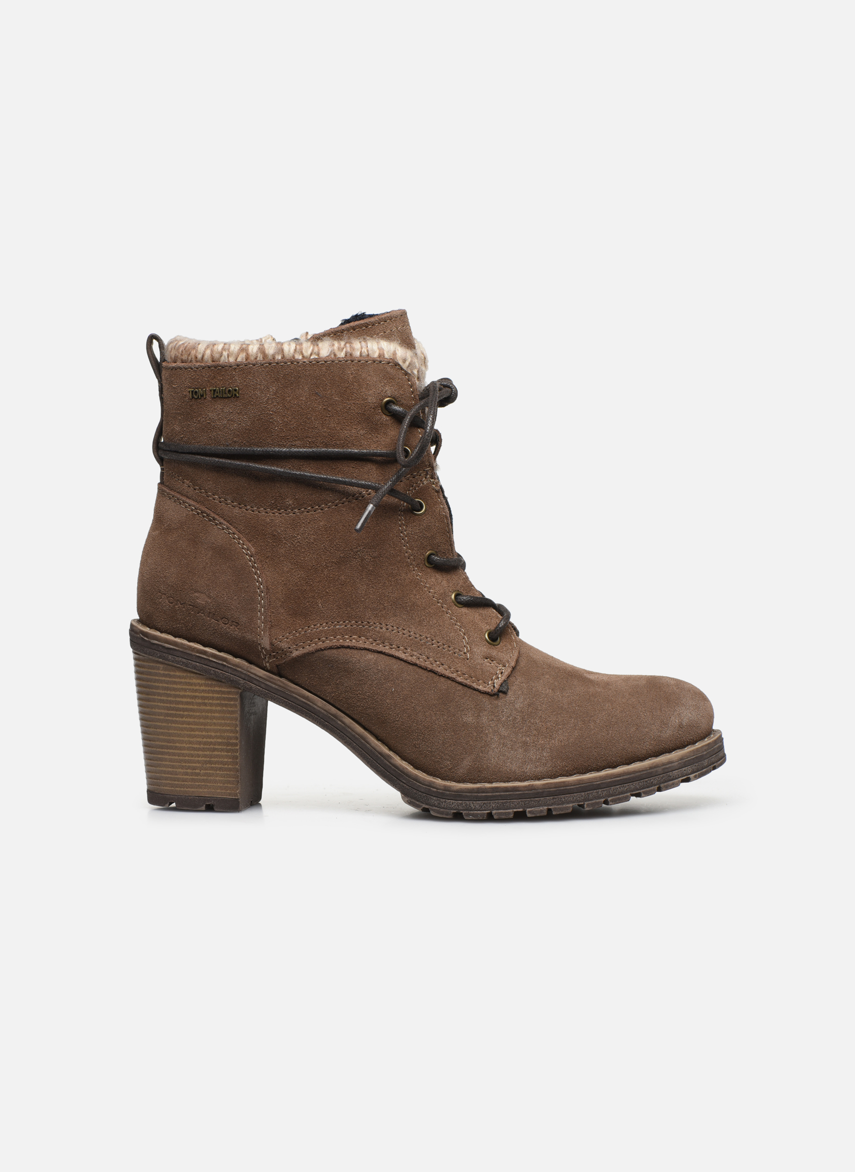 Bottines et boots Tom Tailor Alison Marron vue derrière