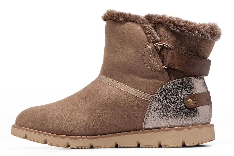 Stiefeletten & Boots Tom Tailor Rose beige ansicht von vorne