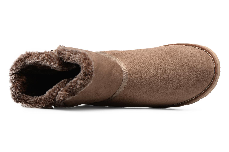 Stiefeletten & Boots Tom Tailor Rose beige ansicht von links