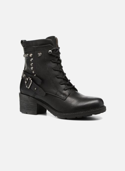 Ankle boots Tom Tailor Saphia Black detailed view/ Pair view