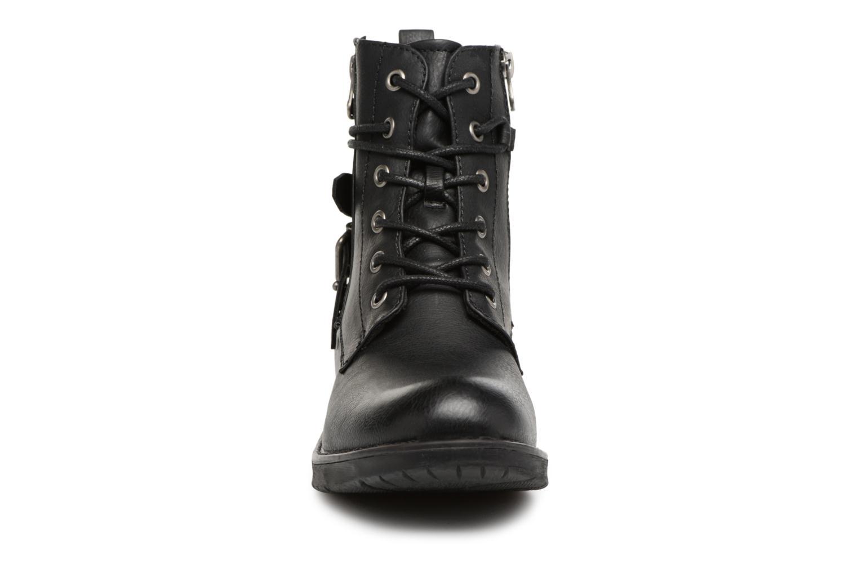 Bottines et boots Tom Tailor Gabrielle Noir vue portées chaussures