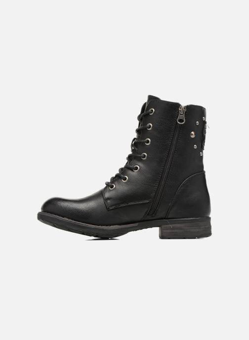 Boots en enkellaarsjes Tom Tailor Alicia Zwart voorkant