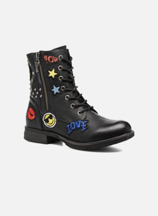 Boots en enkellaarsjes Tom Tailor Alicia Zwart detail